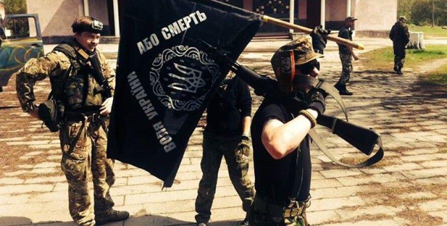 "Бойцы батальона ""Айдар"" / Фото: Facebook"