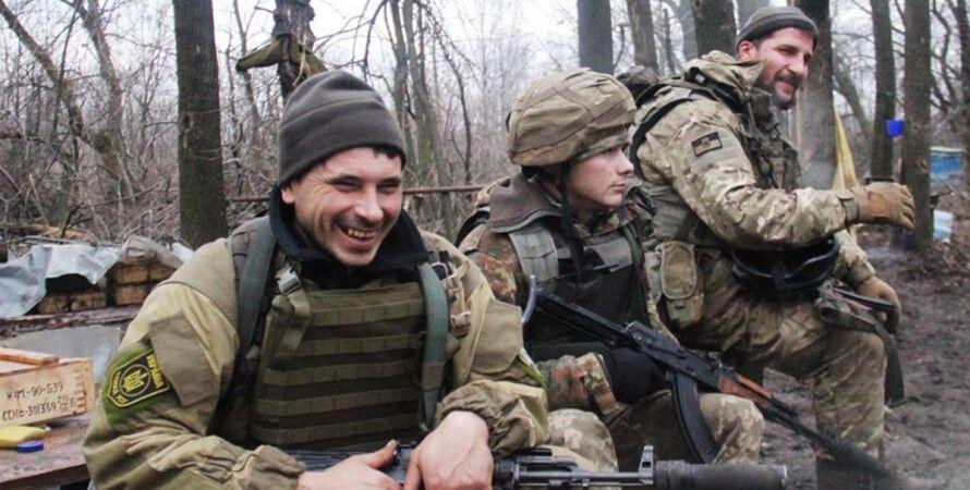 Воины АТО / Фото: Пресс-центр штаба АТО