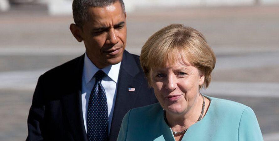 Обама и Меркель / Фото: AP