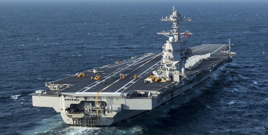 Авианосец, ВМС США, Джеральд Форд