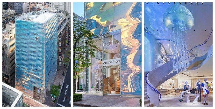 Louis Vuitton , магазин, Япония