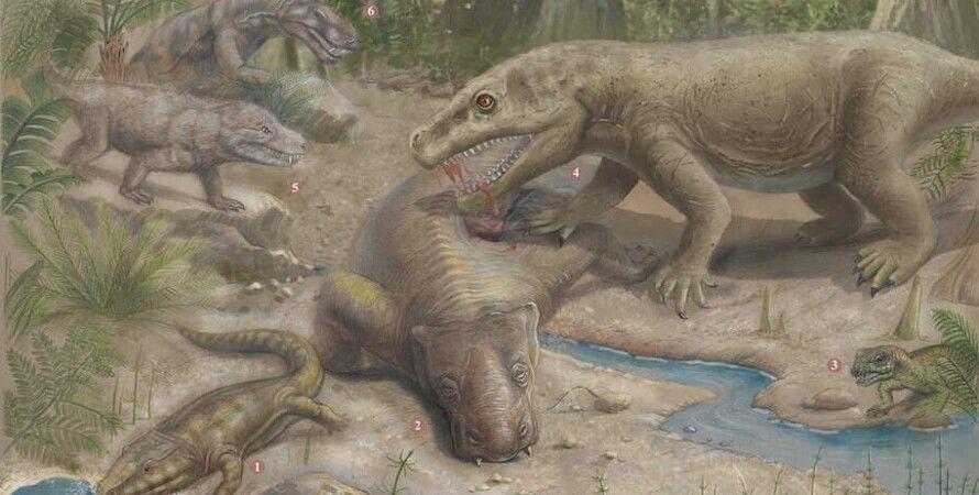 масове вимирання, вимирання видів, пермський період