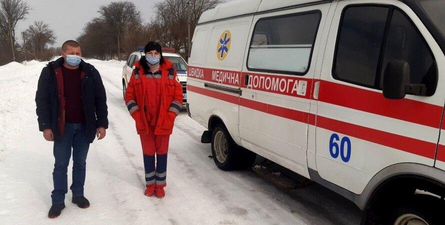Скорая помощь, фельдшер, Черкасская область