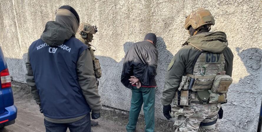 задержание боевика подж харьковом, контрразведка сбу