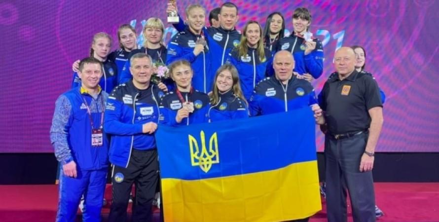 Молодежная сборная Украины, женская борьба, сборная украины, спорт, борьба, чемпионат, первенство европы, чемпионат
