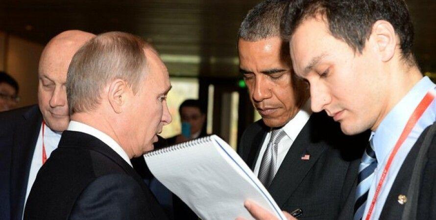 Путин и Обама / Фото пресс-службы Кремля