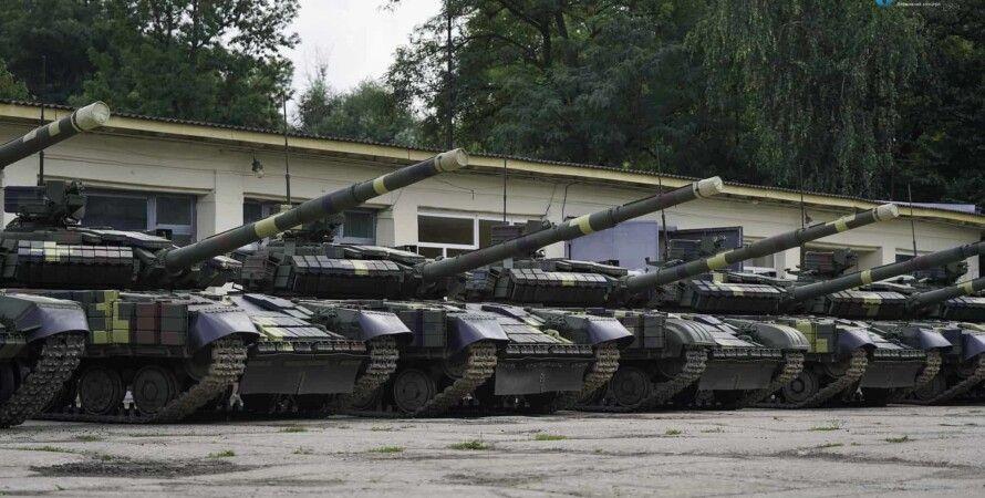 вооружение всу, модернизация танков