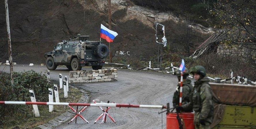 россия, карабах, миротворцы, нагорный карабах