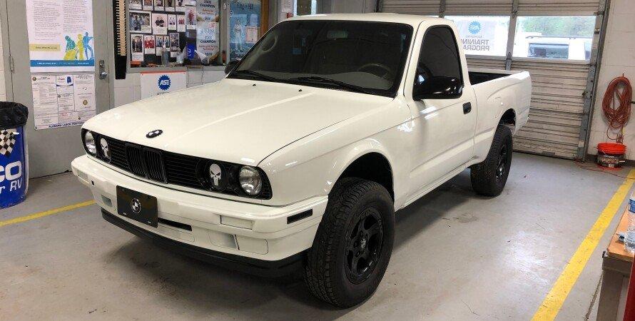 Гибрид пикапа Toyota и BMW