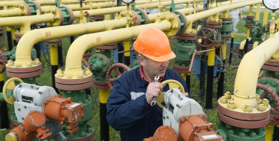 сотрудник Нафтогаза, подземное хранилище газа
