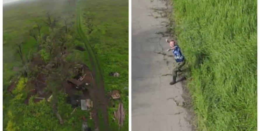 коптер, украинский беспилотник, аэроразведка над Донбассом