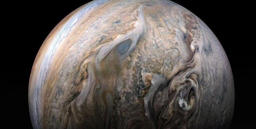 """Юпитер, метор, удар, """"Юнона"""""""