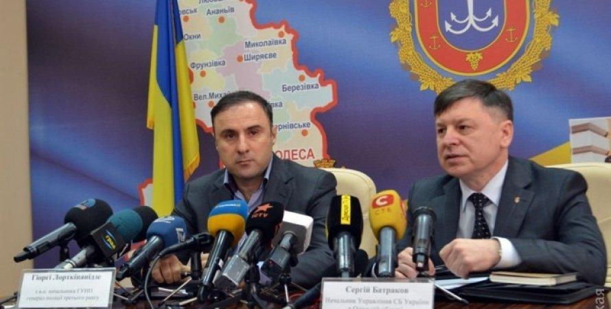 Георгий Лорткипанидзе и Сергей Батраков / Фото: Думская.net