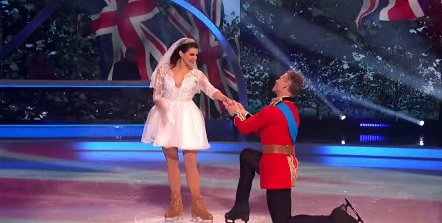 Танцы на льду, принц Уильям, Кейт Миддлтон, шоу, свадьба века