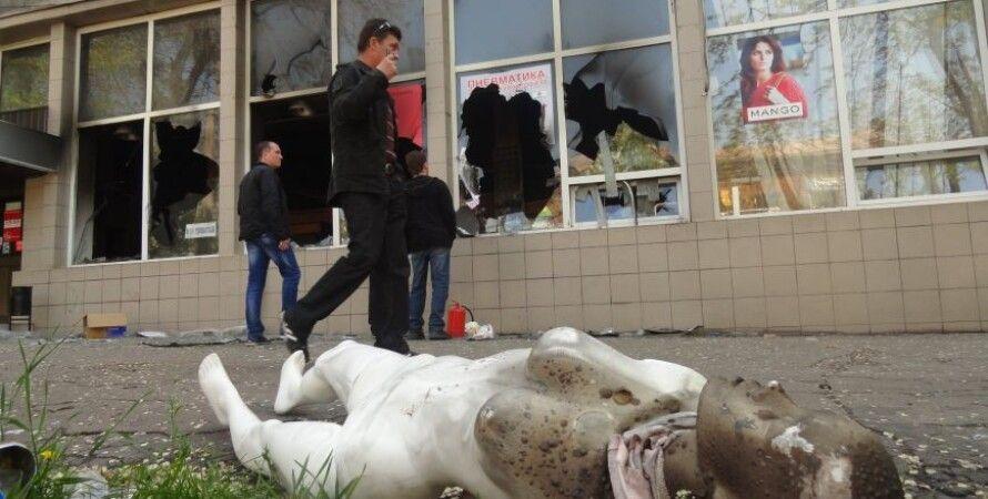 Мариуполь после обстрела боевиков / Фото: 0629.com.ua