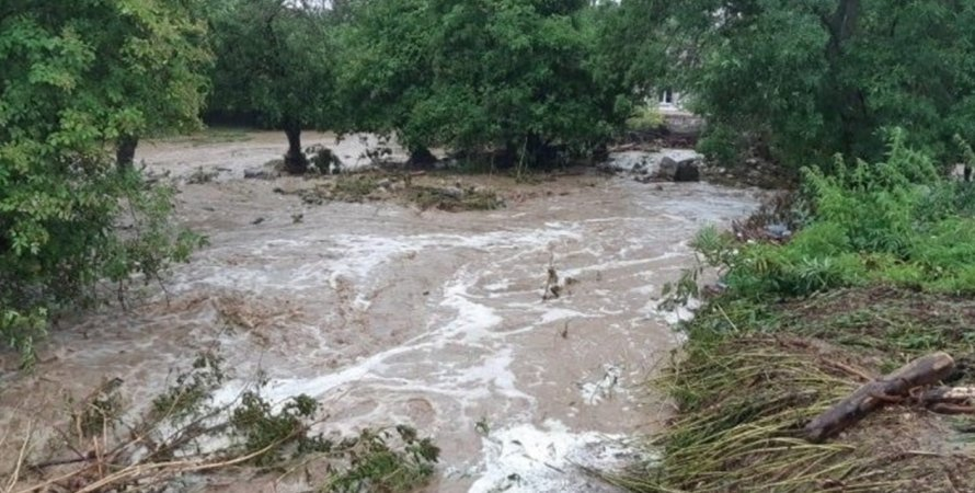 потоп, потоп в Крыму, новый потоп в Крыму, ЧС в Крыму