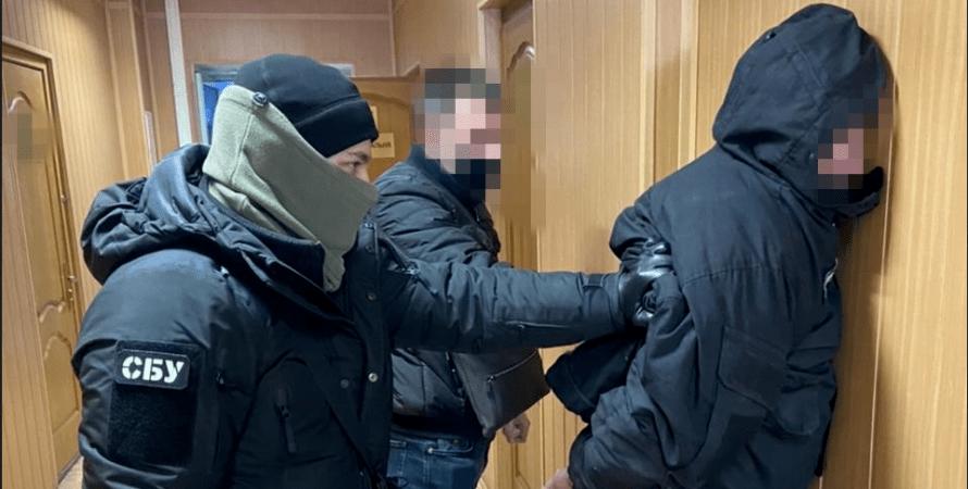 сбу, задержали на взятке, киевводоканал, сбу задержало, взятка за разрешение