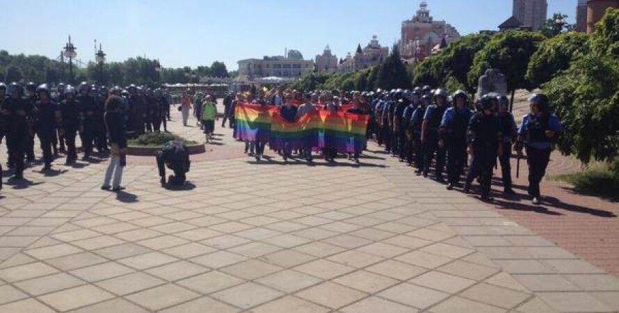"""Марш равенства в Киеве / Фото: """"Громадське ТБ"""""""