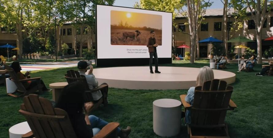 презентация Google, фото