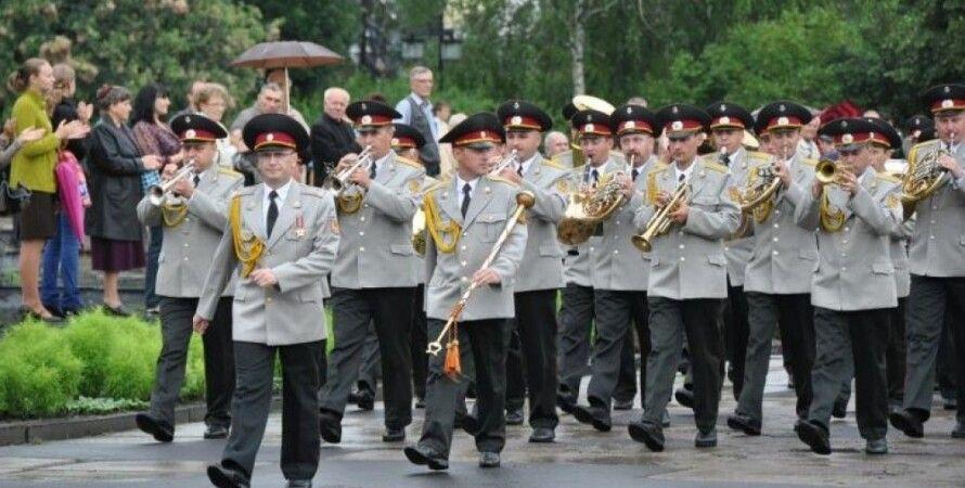 """Военный оркестр / Фото: """"Думская"""""""