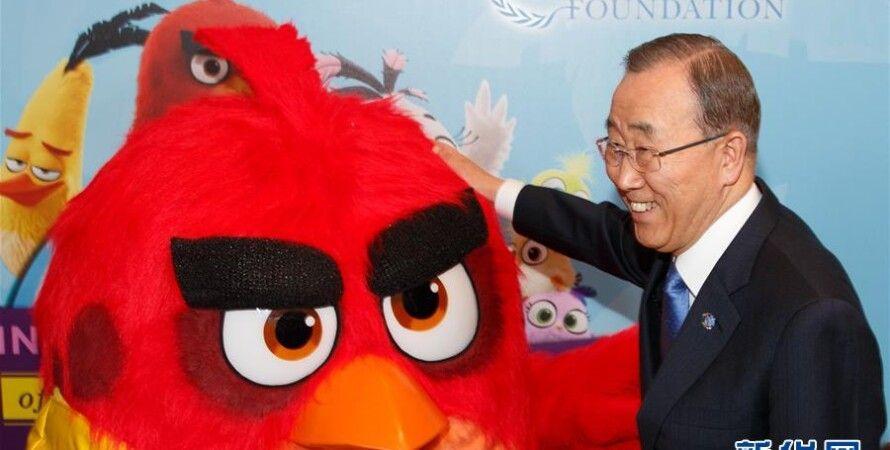 Пан Ги Мун и Красный / Фото: news.cn