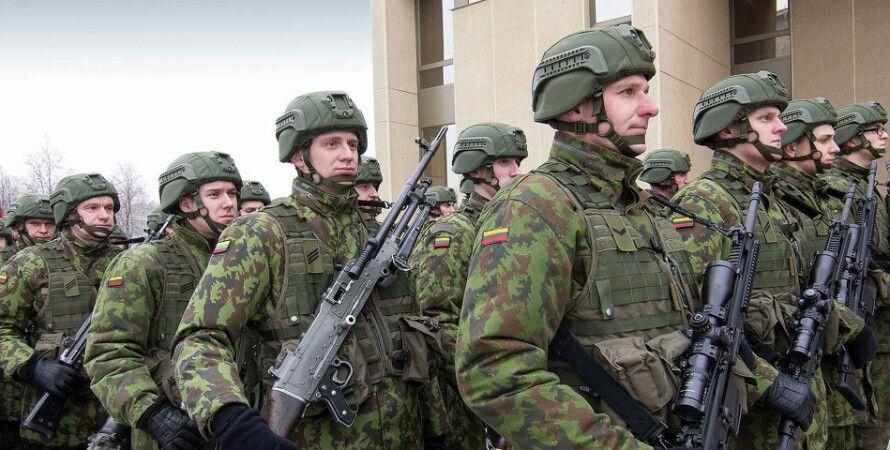 Литовские военные / Фото: Baltnews