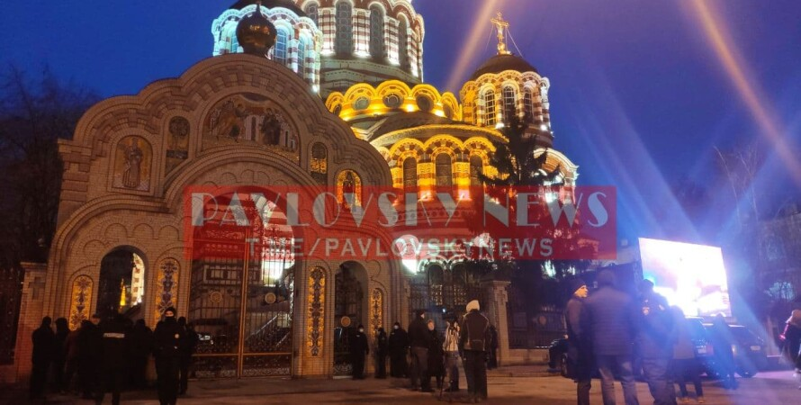 кернес, отпевание, собор, Харьков