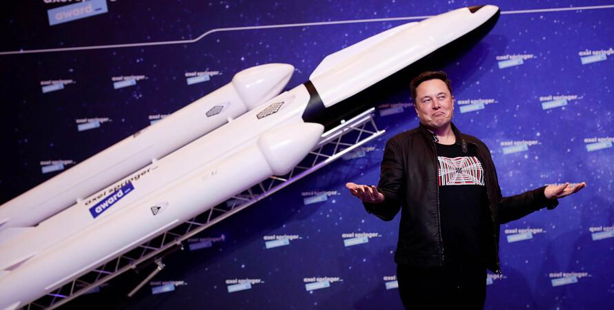 Илон Маск, модель ракеты