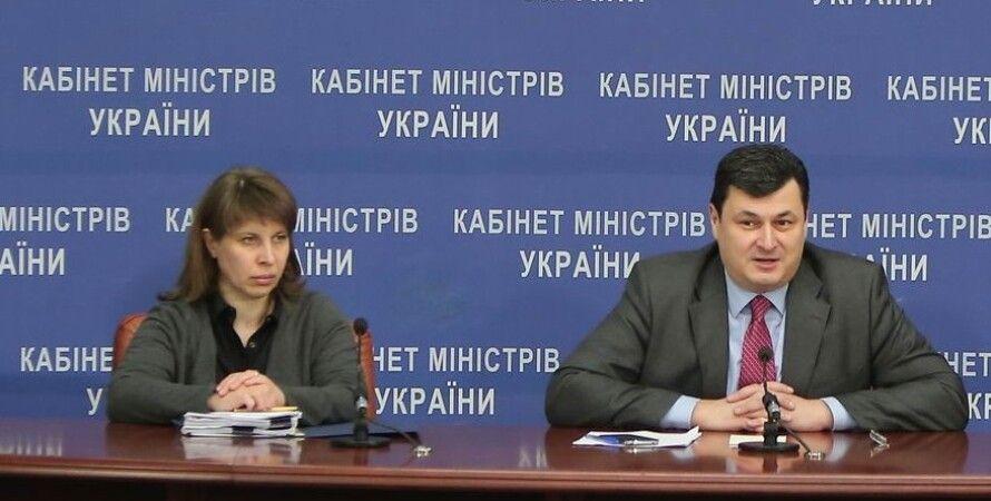 Алена Терещенко и Александр Квиташвили / Фото пресс-службы правительства