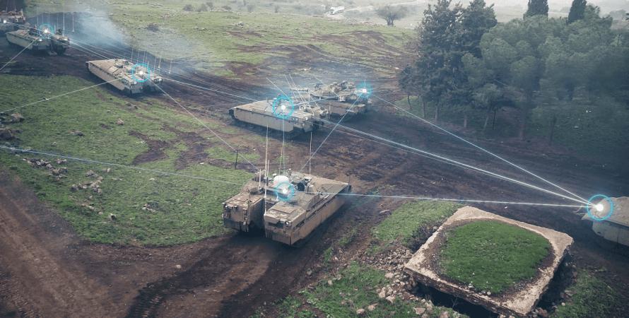 танки, сетецентрическая война, цаяд-750, поле, лес, цахал