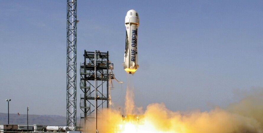 blue origin, космічний туризм, туристи в космосі, New shepard