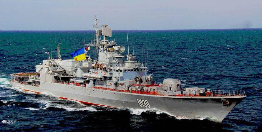 "Флагман ВМС Украины ""Гетман Сагайдачный""/Фото: Википедия"