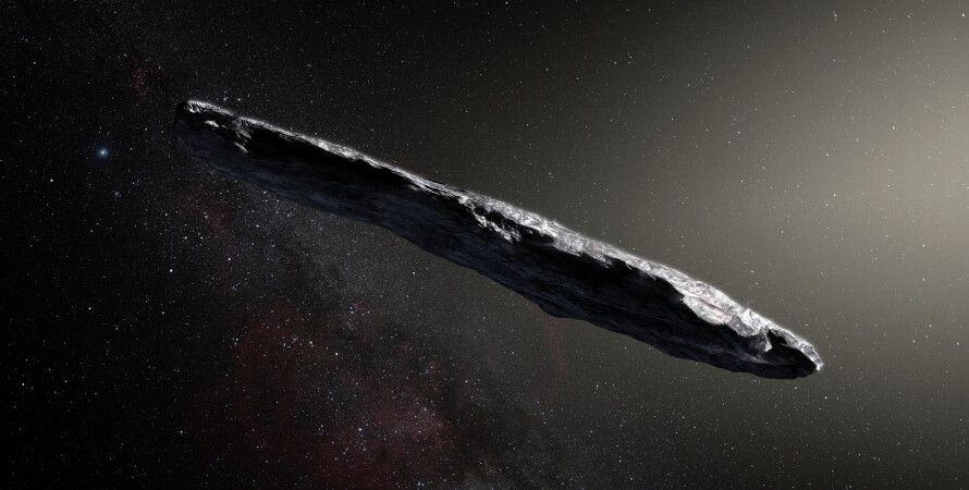 Оумуамуа, космос, нло, комети