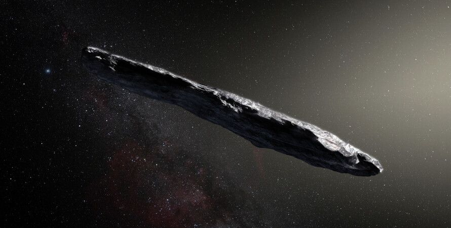 Оумуамуа, космос, нло, кометы