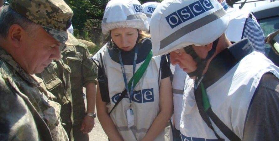 Наблюдатели ОБСЕ в Широкино / Фото пресс-центра АТО