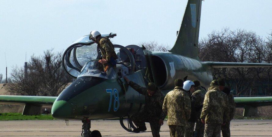 Л-39М1, украина, пилоты, аэродром, небо, самолет