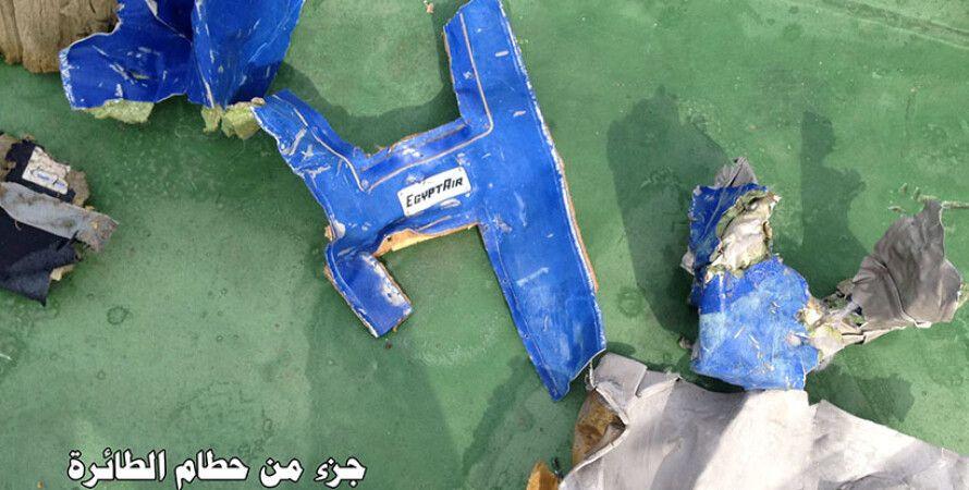 Обломки самолета EgyptAir / Фото: facebook.com/Egy.Army.Spox