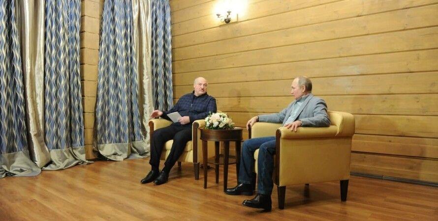 встреча, Владимир Путин, Александр Лукашенко