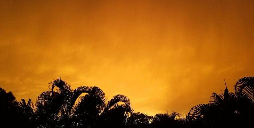 Небо в Майами. Фото: Twitter/@BMcNoldy