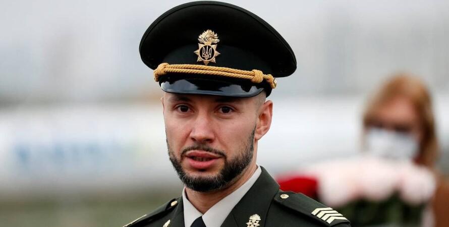 Виталий Маркив, военная форма
