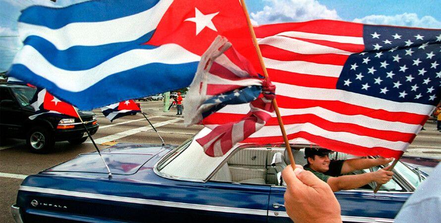 Флаги США и Кубы / Фото: 17tv.com.ua