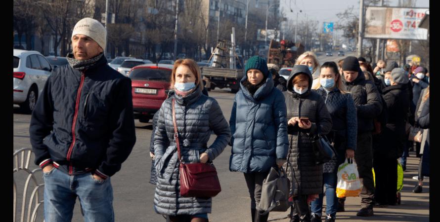 люди, коронавірус, вулиця, фото