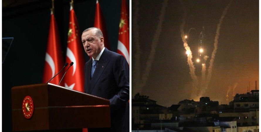 Реджеп Эрдоган, Турция, война в Израиле, обстрелы Израиля, Палестина, ХАМАС