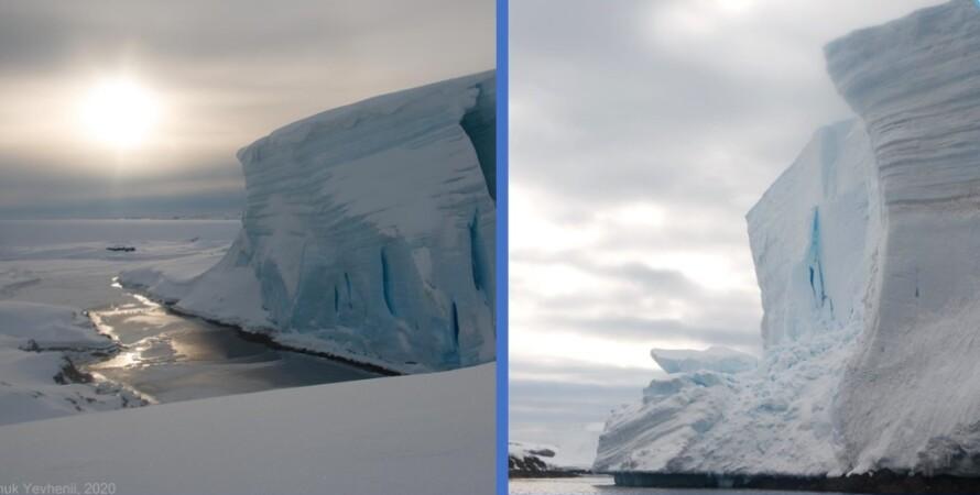 антарктида, ледник, климат, академик вернадский