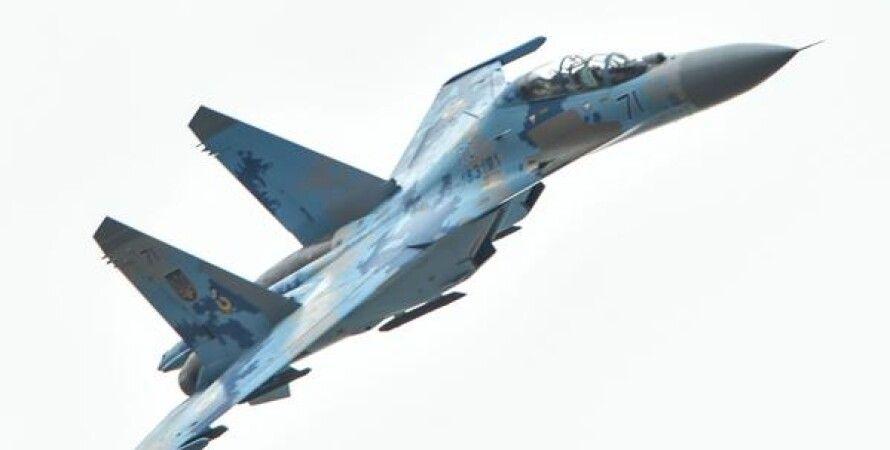 Истребитель Су-27 / Фото: twitter.com