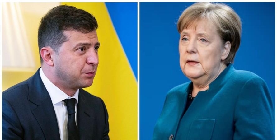 Зеленский, Меркель, 22 июня, нацизм,