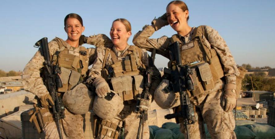 жінки-військовослужбовці, армія, великобританія
