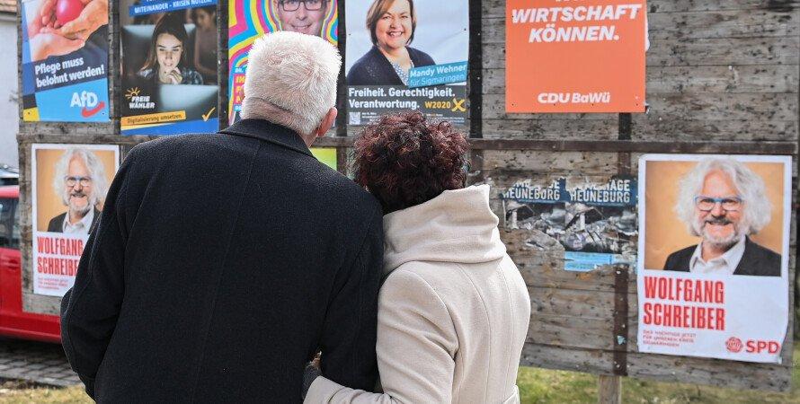 выборы в Германии, политическая реклама