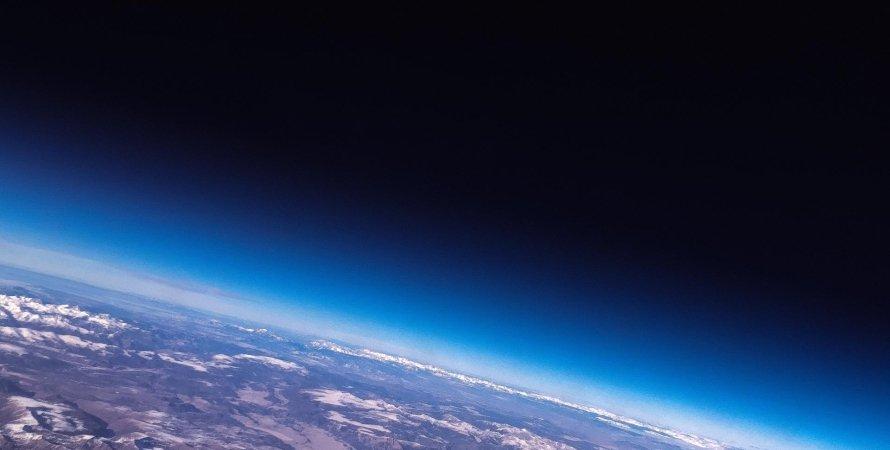 атмосфера, Земля, космос, фото