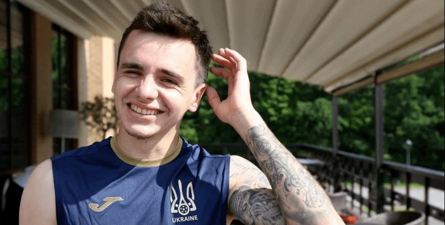 Микола Шапаренко, збірна України, футбол